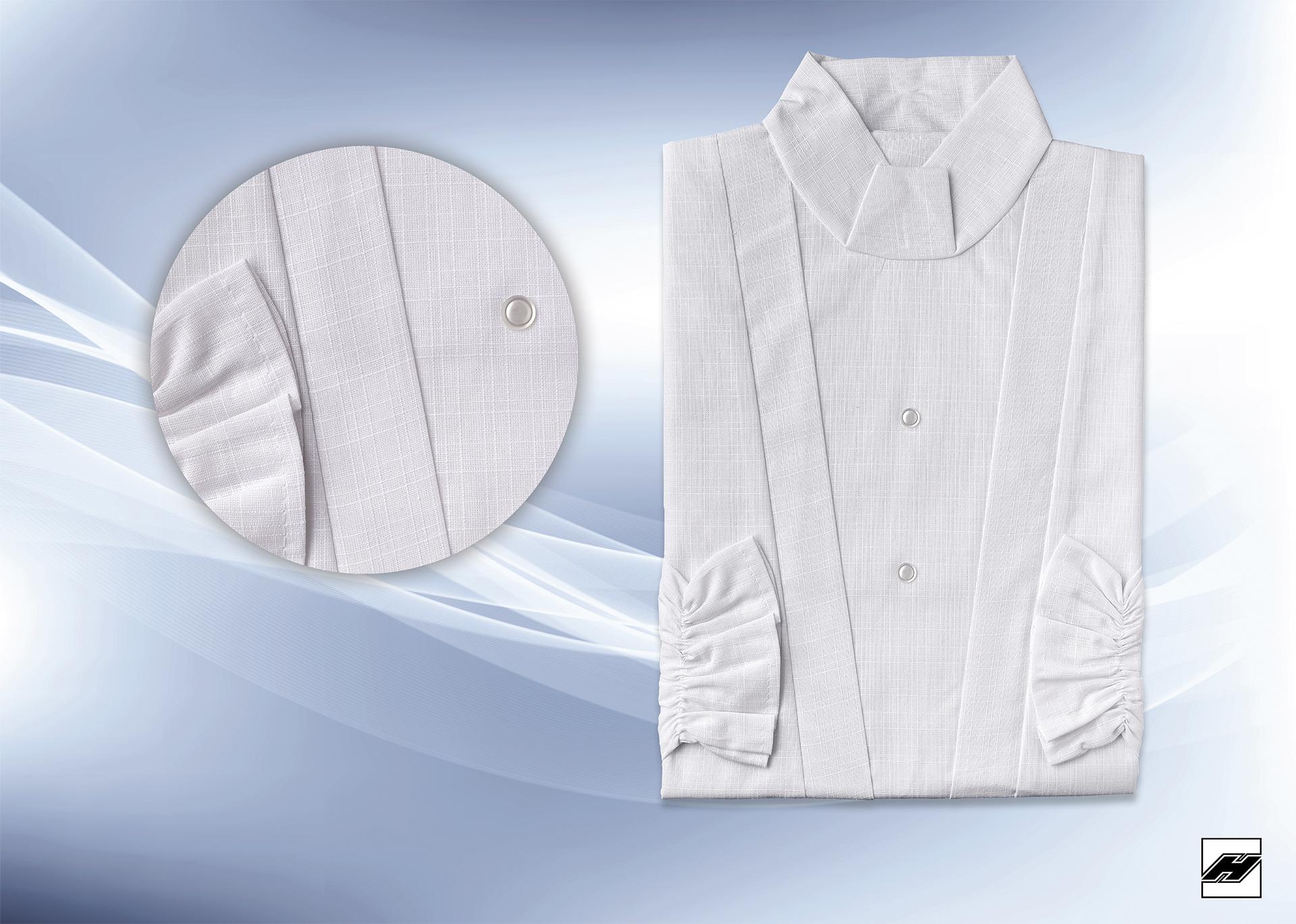 Damenkleid 2033 Leinen weiß