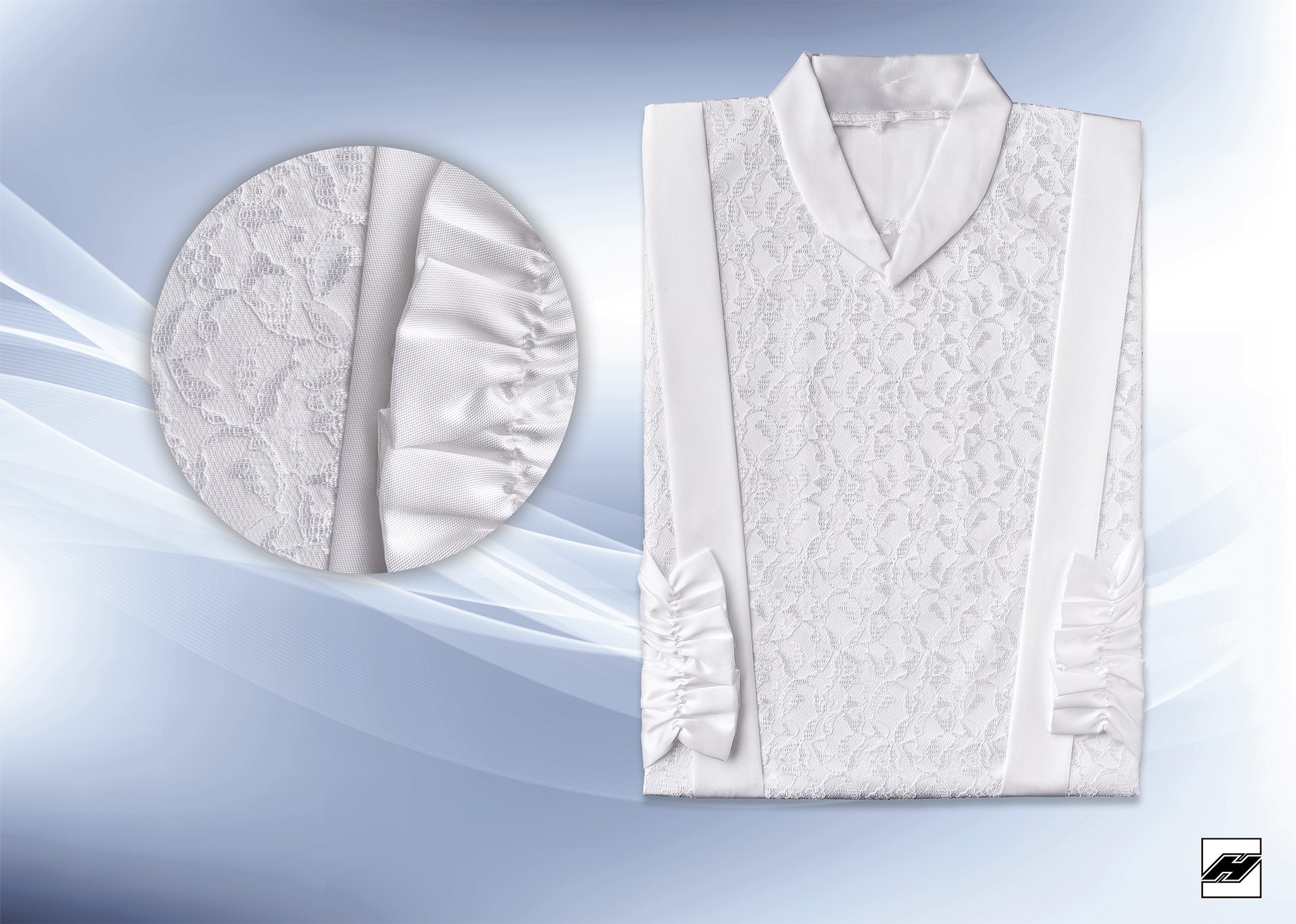 Damenkleid 234 KS weiß