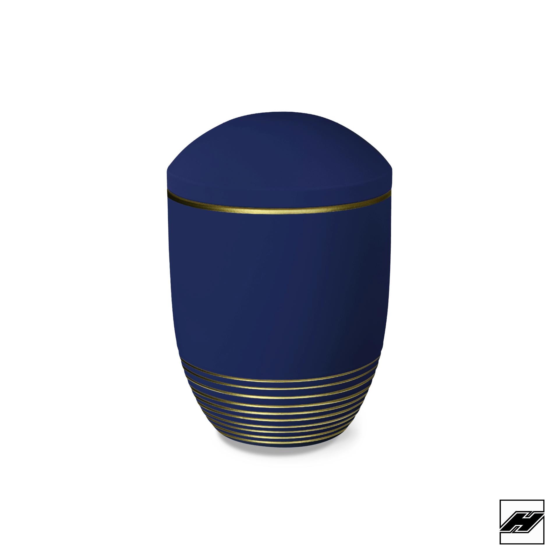 Urne WAVE saphir gold