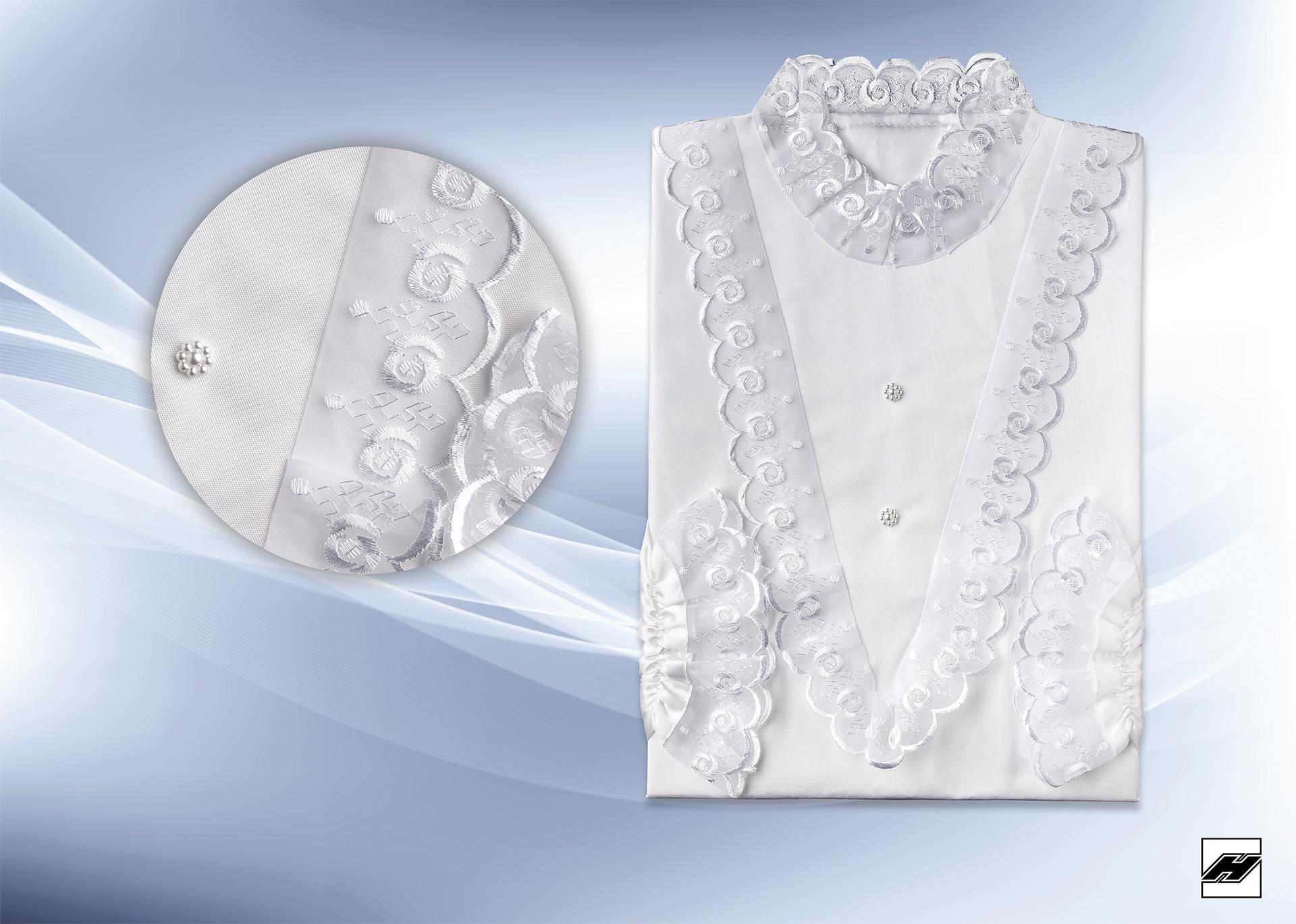 Damenkleid 226 KS weiß