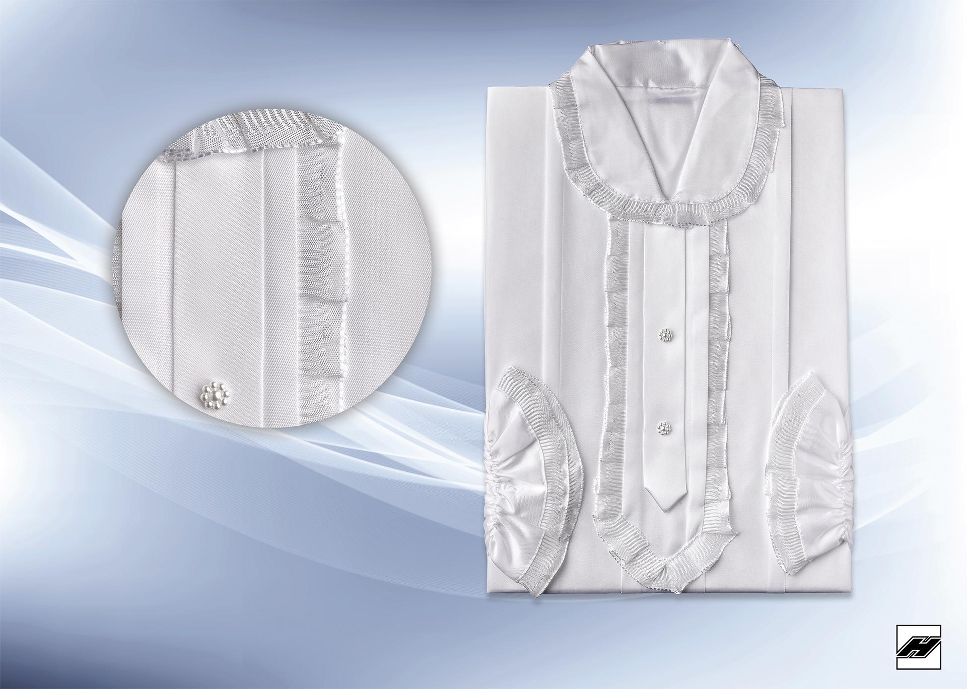 Damenkleid 202 KS weiß